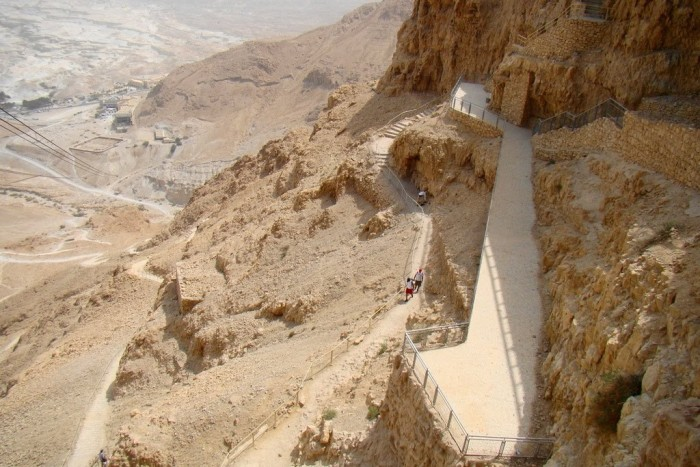 Snake Path - Masada National Park
