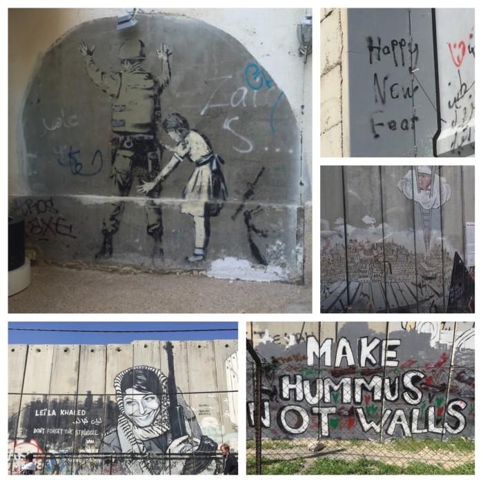 Graffiti on the Separation  Wall