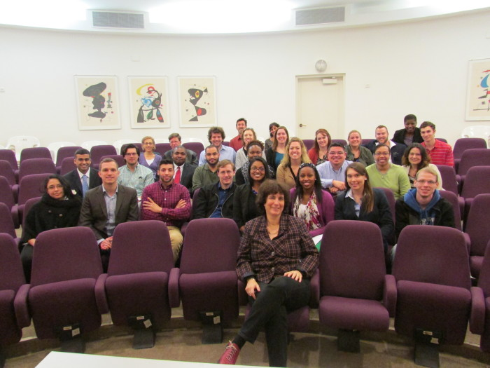 Group picture with Justice Barak-Erez.