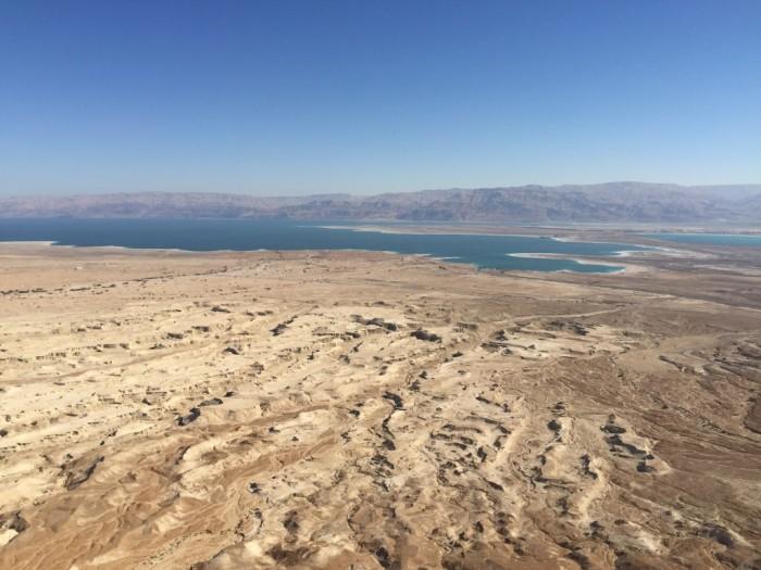 Judean Desert from Masada