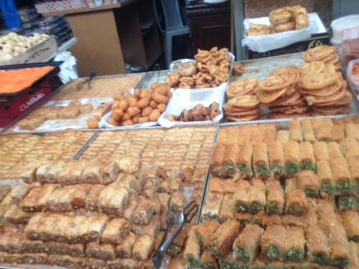 Sweets from carmel Market