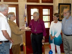 Meeting with the Bishop