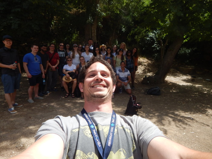 Nathan Selfie near the Ein Kerem